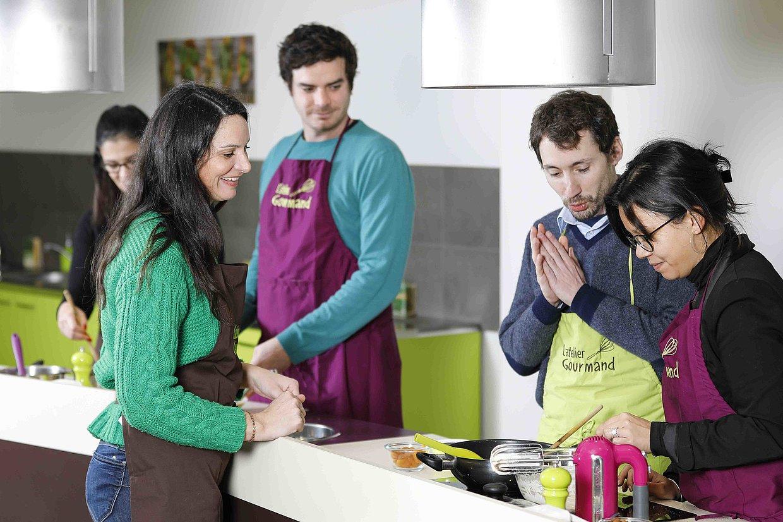 Cours de cuisine avec Claire Lehay