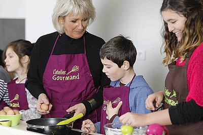 activités cuisine en famille